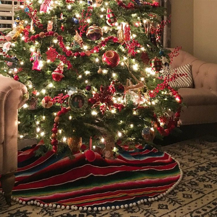 Christmas Tree Skirt - Del Mex - 1