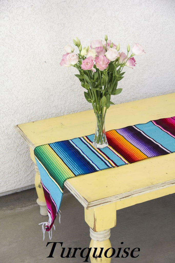 Serape Table Runner - Del Mex - 10