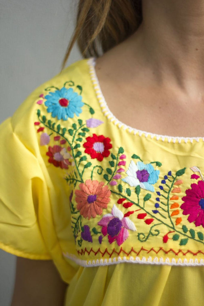 Blouse- Yellow - Del Mex - 2