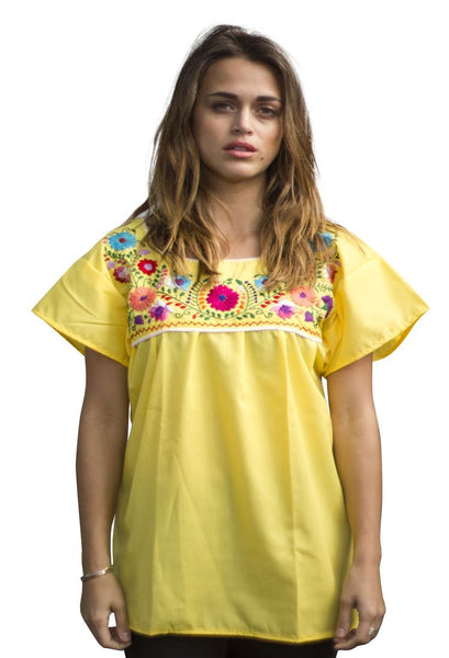 Blouse- Yellow - Del Mex - 1