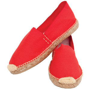 Espadrille- Fallen Leaves or Tomato Red - The Downtown Dachshund
