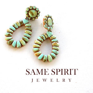Same Spirit Jewelry- Turquoise Dripping Springs - The Downtown Dachshund