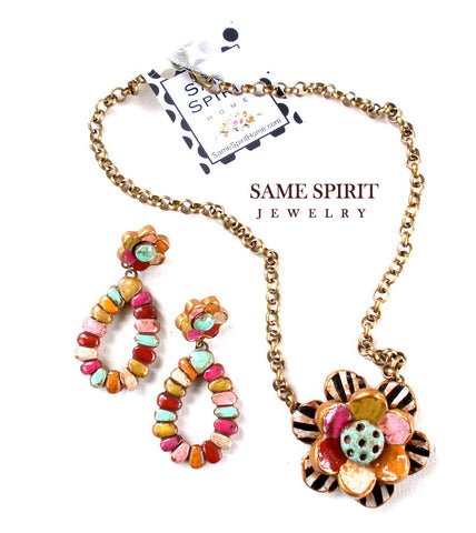 Same Spirit Rodeo Clown Choker - the-downtown-dachshund