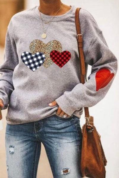 Hearts Sweater - The Downtown Dachshund