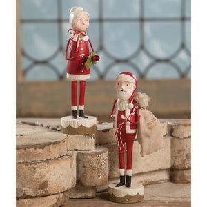 Mr and Mrs Santa Claus- NEW