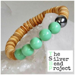 The Silver Bead Project bracelet - The Downtown Dachshund