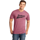 District® - Young Mens Microburn® V-Neck Tee DT161