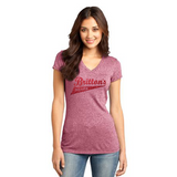 District® - Juniors Microburn® V-Neck Tee DT261