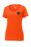 Ladies Nike Core Cotton Scoop Neck Tee