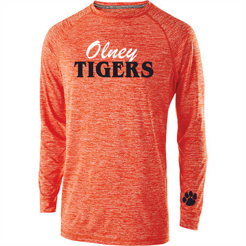 STYLE 222524 ELECTRIFY 2.0 SHIRT L/S Orange Heather