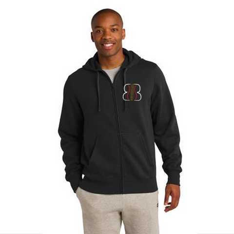 Sport-Tek® Full-Zip Hooded Sweatshirt. ST258.