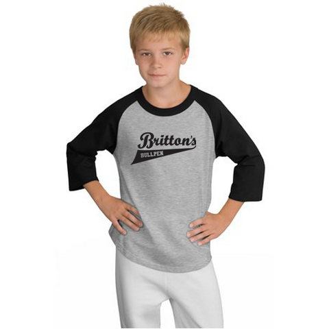 Sport-Tek® Youth Colorblock Raglan Jersey. YT200