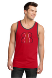 DT1500  District® - Young Mens Cotton Ringer Tank