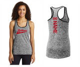 LST396  Sport-Tek® Ladies PosiCharge® Electric Heather Racerback Tank