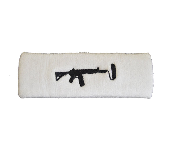 Sweatband - White/Black