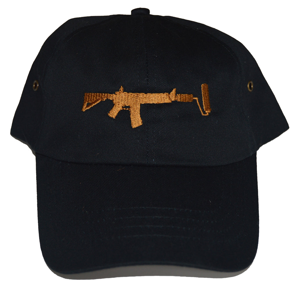 Dad Hat - Black/Bronze