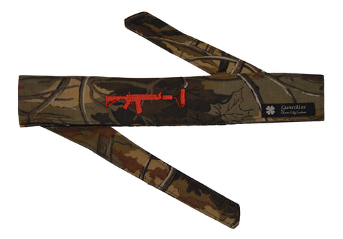 Charm City  Headband - Camo/Red