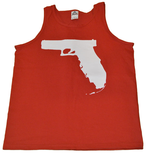 Florida Gun Tank top - Red