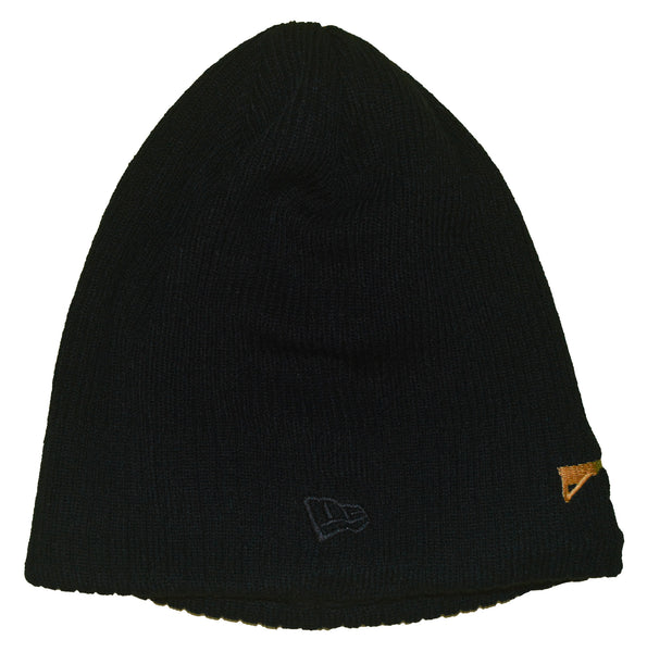 New Era Beanie Black - Gold