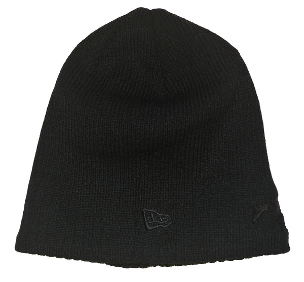 New Era Beanie Black - Black