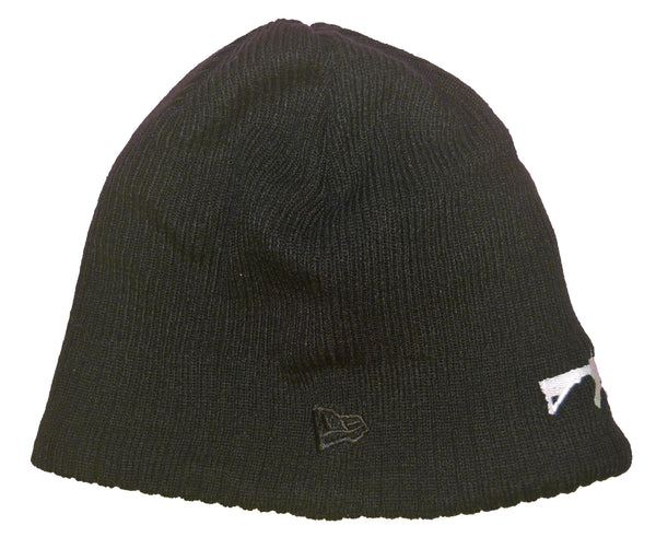 New Era Beanie Black - White