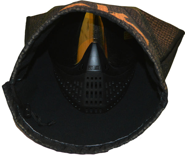 Ski-Mask Goggle Bag - Gold