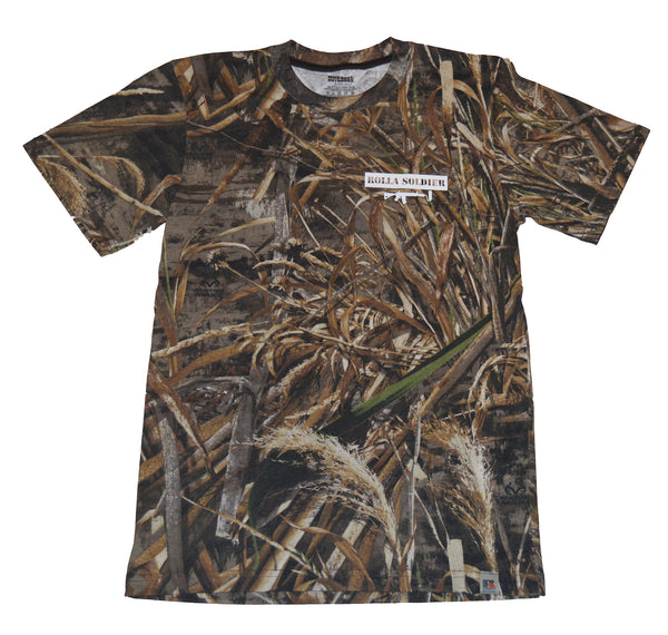 Realtree shortsleeve - White
