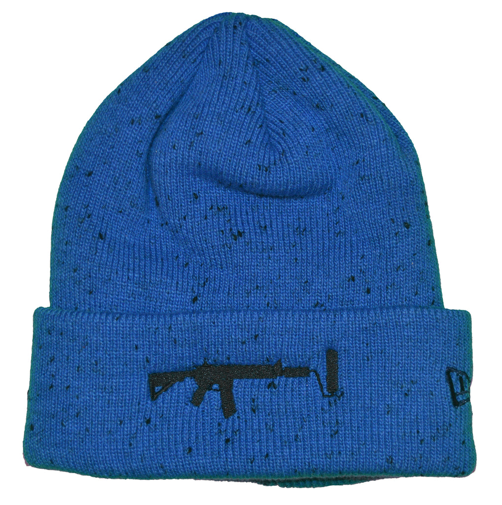 New Era Beanie Spotted Blue - Black