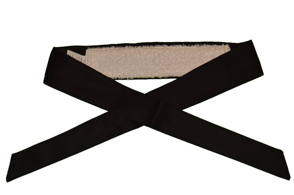Black Sandana Headband - White