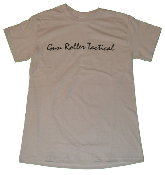 Gun Roller Tactical t shirt- Sand/Black 2XL