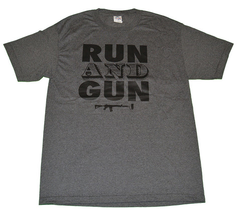 Run and Gun T-shirt - Charcoal
