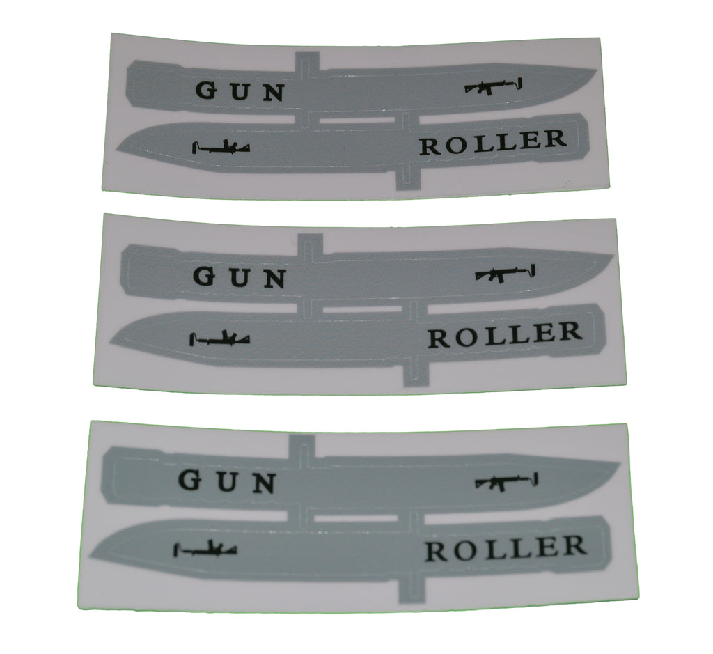 Bayonet Stickers - 3 pack