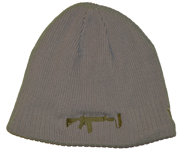 New Era Beanie Grey - Olive