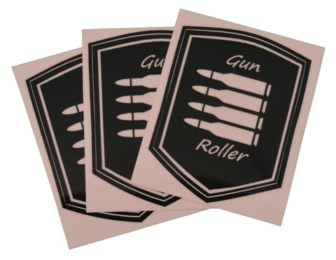 3 pc Patch logo Stickers