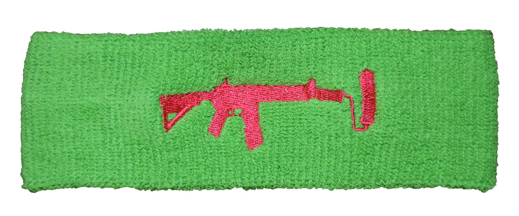 Lime Head Sweatband - Pink
