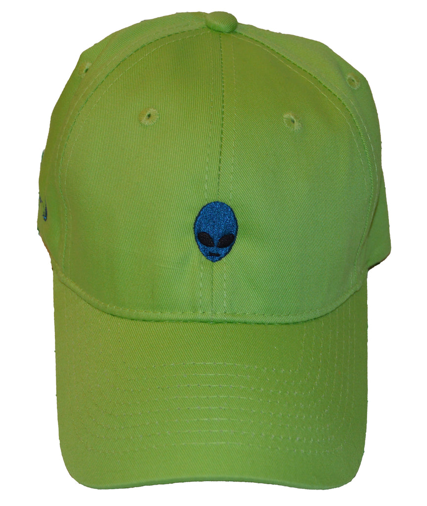 Dad Hat - Lime/Royal