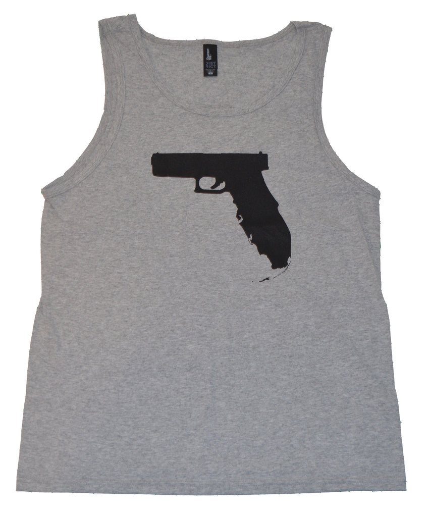 Florida Gun Tank top - Grey