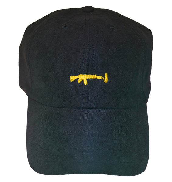 Dad Hat - Navy/Yellow
