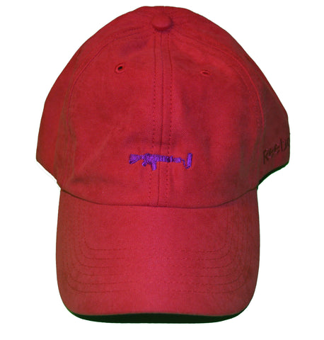Dad Hat - Red/Purple