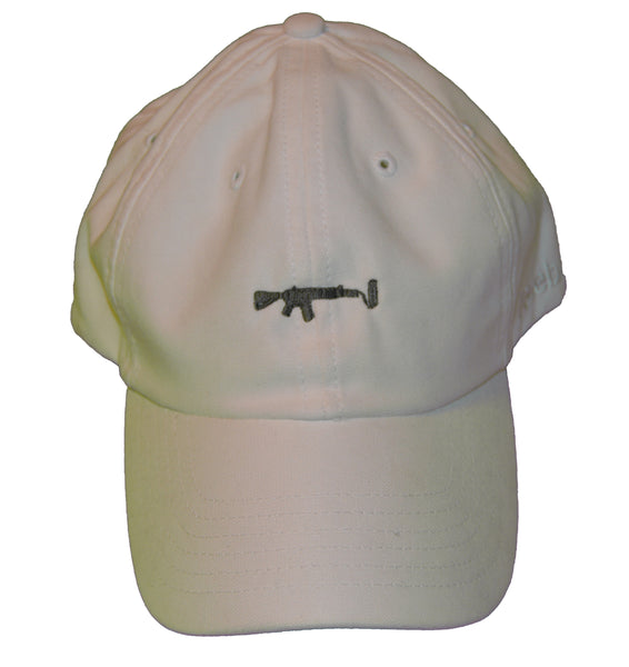 White Dad Hat - Olive