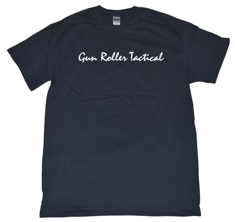 Gun Roller Tactical t shirt- Black/White