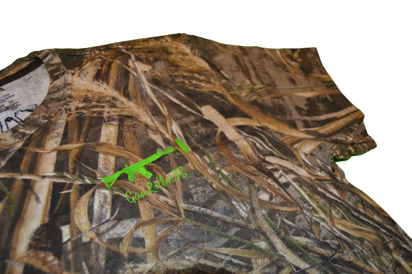 Realtree shortsleeve - Lime green/black