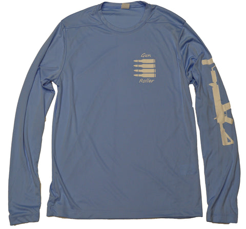UPF 50 dryfit Longsleeve - Light Blue