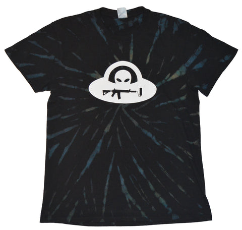 Alien Tie Dye - Black/ White