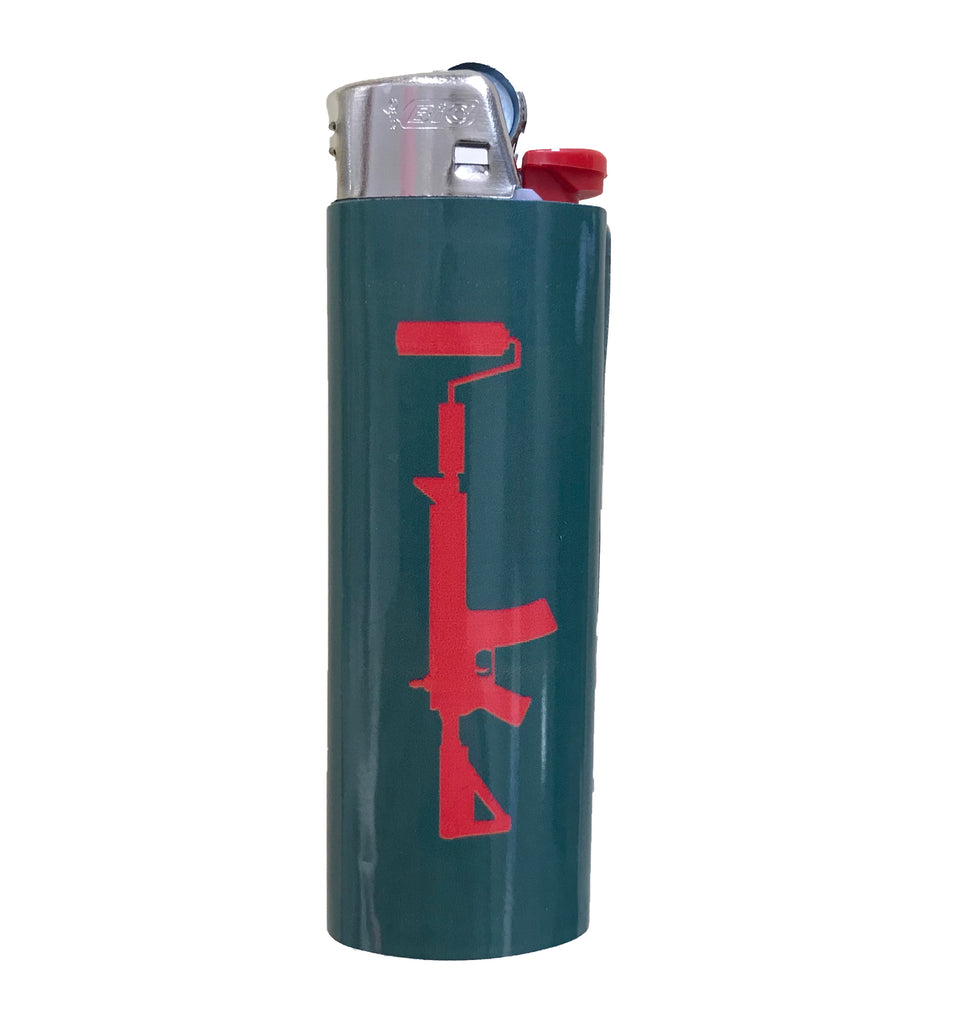 BIC Lighter - Green/Red