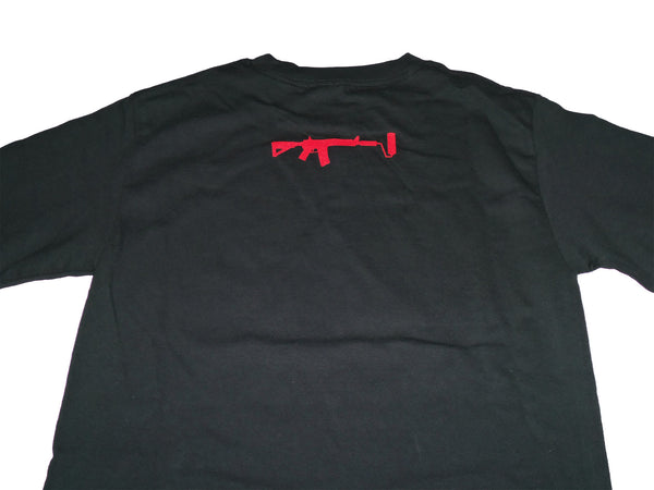 Cali Killer long sleeve - Black/Red