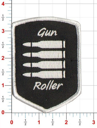 Gun Roller PB Patch - Iron on