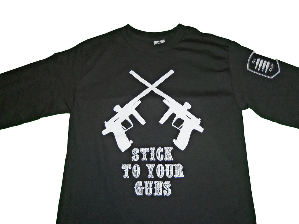 Stick to your Guns long sleeve - Black/white