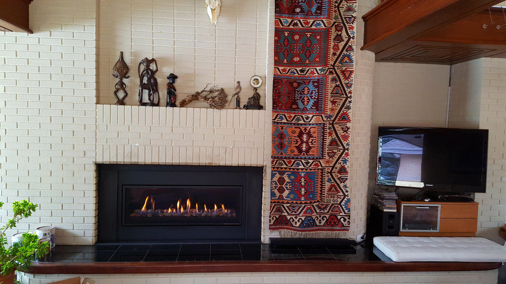Make your old drafty fireplace and energy efficient feature in your home.