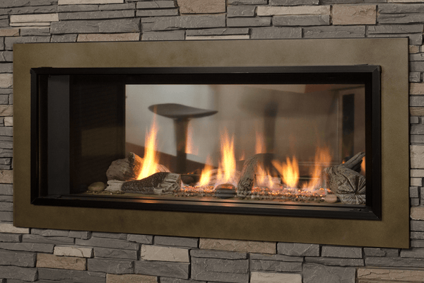 L1 2-Sided Fireplace